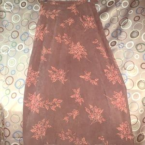 Christopher Banks Size 4 Stretch Floral PrintSkirt